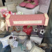 East Of India Pink Birth Certificate Box